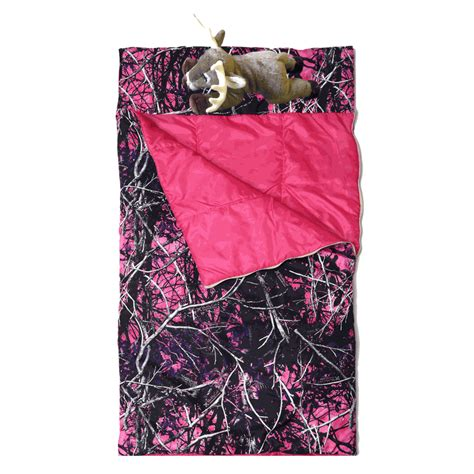 muddy girl camo bedding muddy girl bedding muddy girl slumberbag with deer pillow