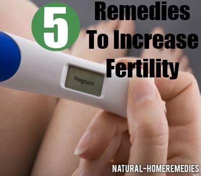 top 5 herbal remedies to increase fertility ways