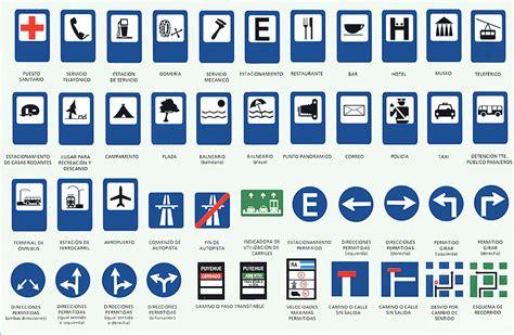imagenes de señales informativas en ingles auto escuela tony general pacheco web