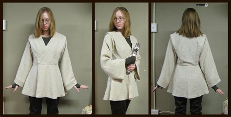 tutorial jedi costume female jedi tunic by verdaera on deviantart star wars