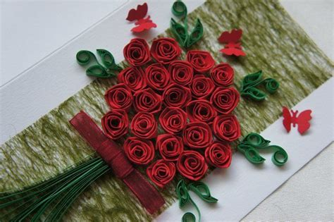 Paper Quilling Roses - quilling flowers patterns quilling patterns for