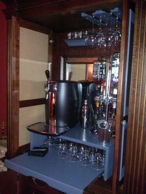 37 best Project Convert FREE TV Armoire into AWESOME Bar