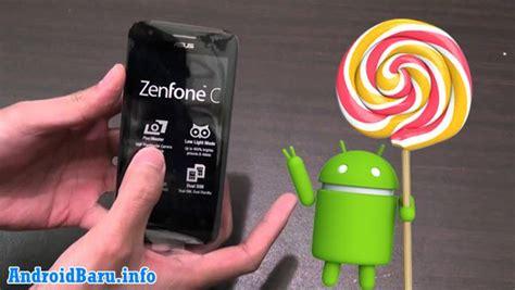 tutorial upgrade android kitkat ke lolipop tutorial cara upgrade asus zenfone c menjadi lollipop tanpa pc