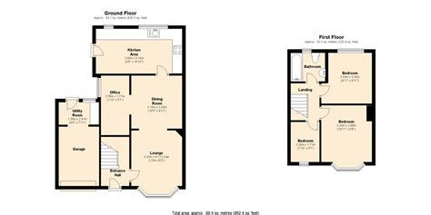 floor plan exles for homes sle floor plan with dimensions home mansion
