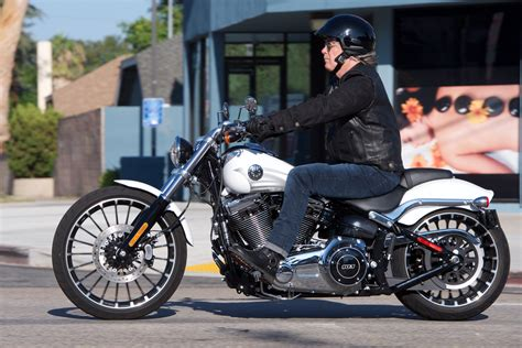 hd review 2017 harley davidson softail breakout review go