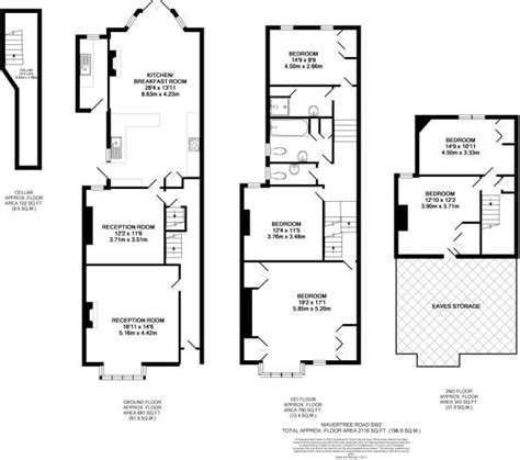 edwardian house floor plans 5 bedroom house for sale in wavertree road streatham sw2
