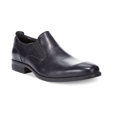 cole haan black loafers cole haan copley 2 loafers in black for lyst