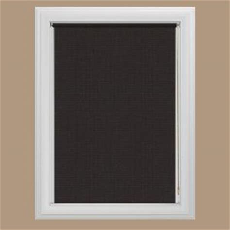 bali cut to size java blackout fabric roller shade 60 in