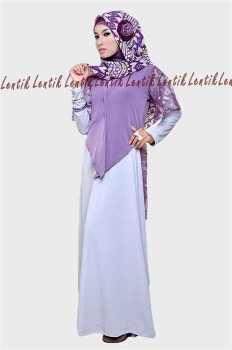 Gamis Brokat 1 Uk Xl Ungu by Butik Busana Muslim Terbesar Dan Terlengkap September 2013