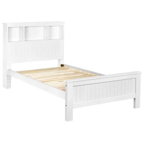 white wooden bed frame king wooden bed frame king single with shelf white sales