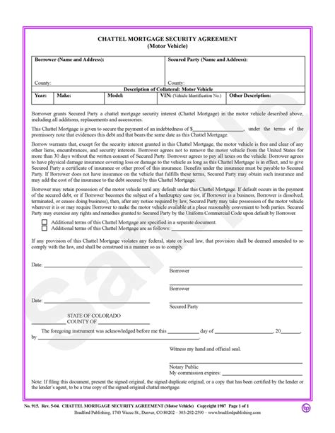 lien agreement template doc 575709 sle mortgage contract mortgage agreement