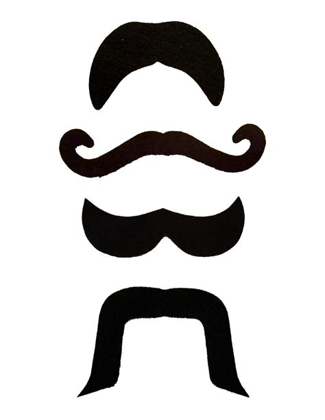 mustache template miss fancy the diy photo booth templates