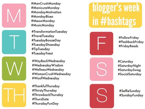 blogger day blogger week in hashtags
