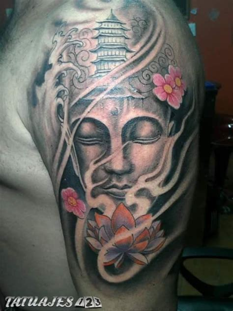 buda oriental tatuajes 123