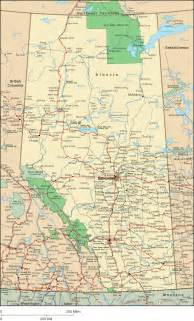 alberta map detailed map of alberta canada