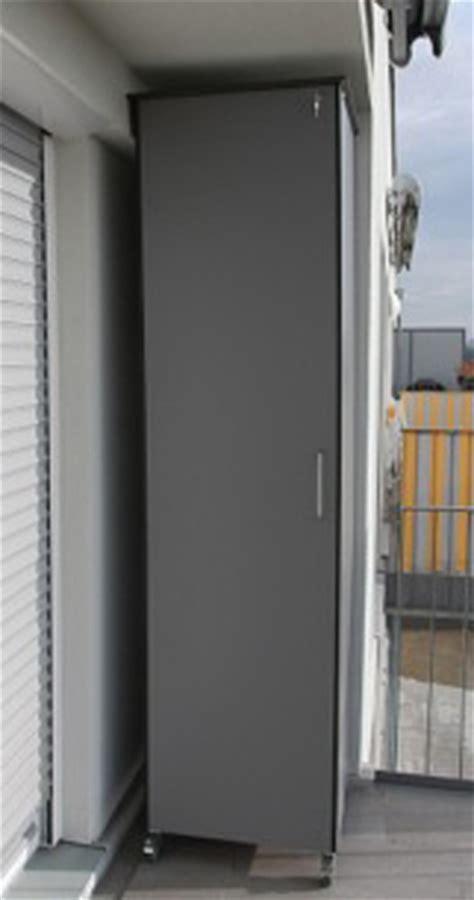 balkonschrank wetterfest schrank au 223 enbereich aufbewahrung f 252 r garten balkon
