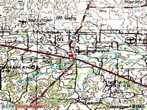 map of springtown springtown tx 76082 profile population maps