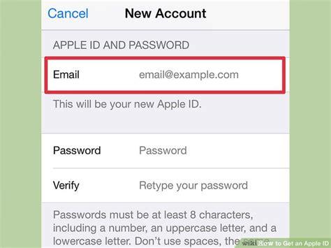 apple id 3 ways to get an apple id wikihow