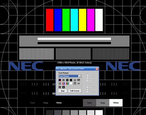 test pattern software nec test pattern generator download