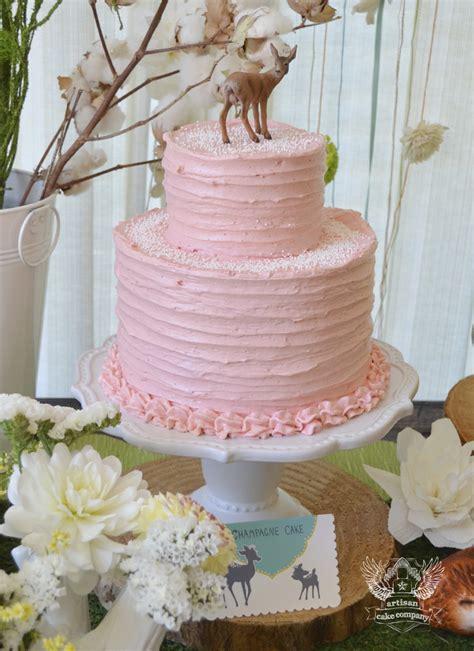 pink deere baby shower woodland baby shower artisan cake company