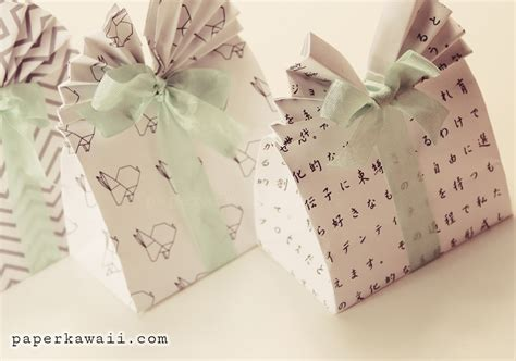 Origami Gifts For - origami gift bag tutorial paper kawaii