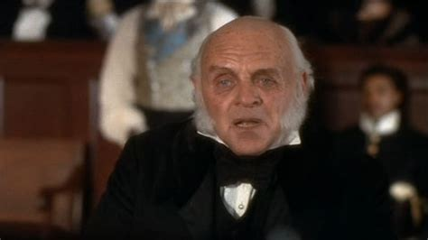 anthony hopkins john quincy adams natural state is freedom movie clip from amistad at