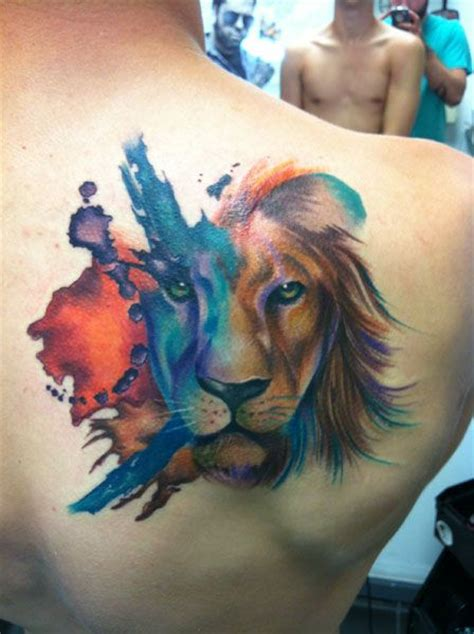 watercolor tattoo israel shultz ink therapy piercing studio plainfield