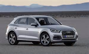 2017 audi q5 revealed at show up to 90kg lighter