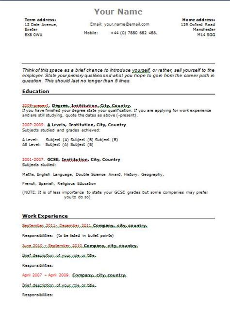 Find Resume Templates by Functional Resume Template Student Resume Templates