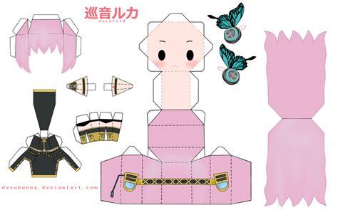 Papercraft Animation - papercraft anime chibi papercraft anime chibi