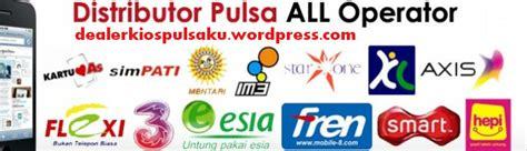 1 Cip All Operator Jual Pulsa dealer pulsa elektrik termurah di jakarta hub 0856 9507 1660 kios pulsaku distributor