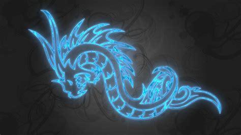 Blue Dragons Wallpaper
