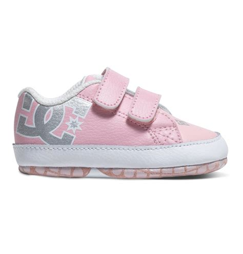 light pink baby shoes baby s court graffik shoes 320039 dc shoes