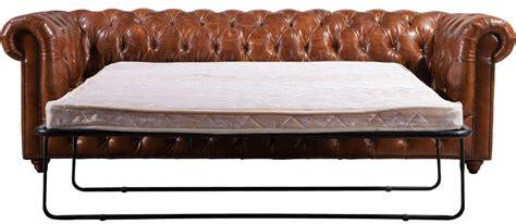 divano letto vintage antico chesterfield in pelle vintage divano letto