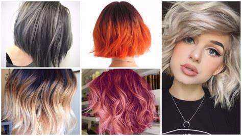 medium ombre haircuts medium length ombre hairstyles for 2018 hairstyles 2018