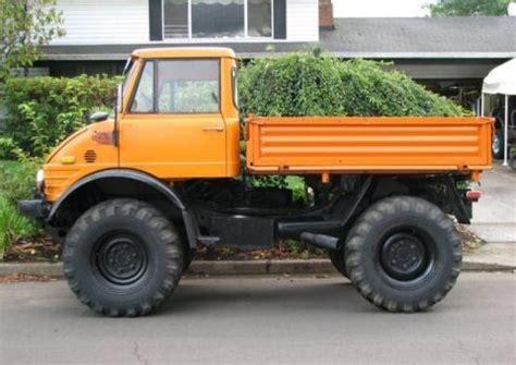mercedes diesel truck ultimate utility 1972 mercedes unimog bring a trailer