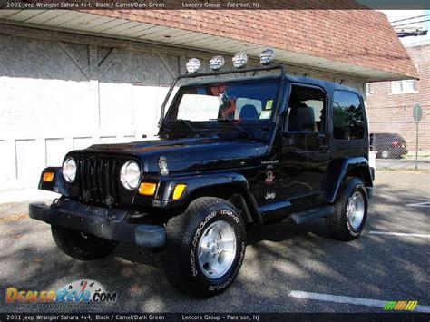 2001 Green Jeep 2001 Jeep Wrangler 4x4 Black Camel Green