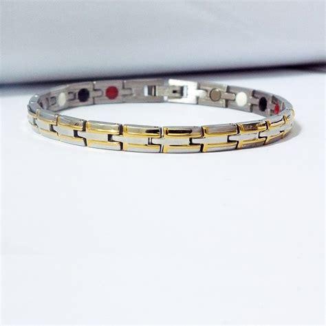 Gelang Kaki Ankle Bracelet Anti Karat gelang tangan magnet bracelet cincin titanium model anti karat anti hitam