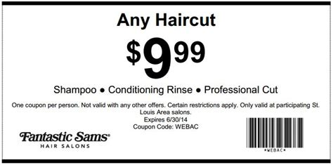 haircut coupons for walmart fantastic sams coupons chandler az cyber monday deals on
