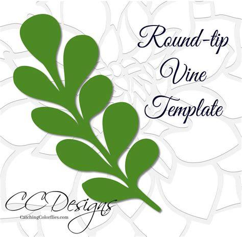 leaf template tip vine leaf template paper vine templates paper leaf