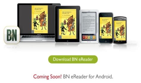 ereader for android ereader app from barnes noble coming soon to android