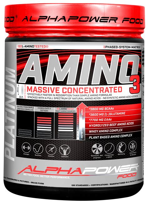 Mein Shop 3148 by Alphapower Food Amino 100 1000 Tabs Can