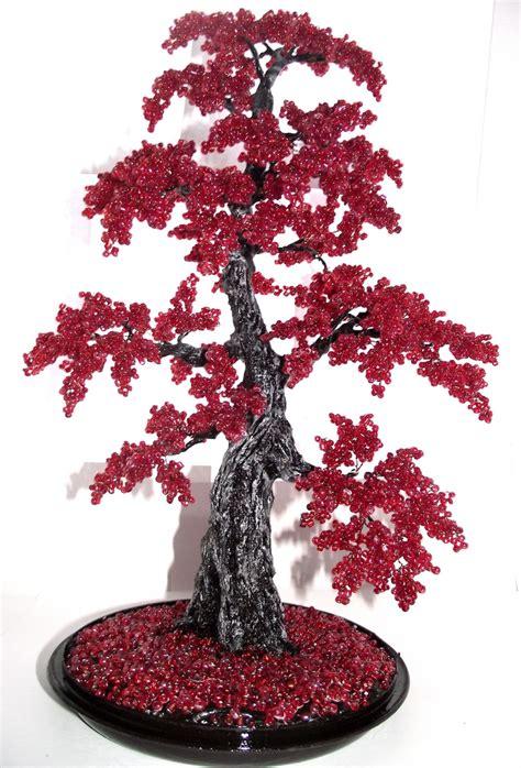 beaded tree bonsai beaded tree by woolarttoys on deviantart