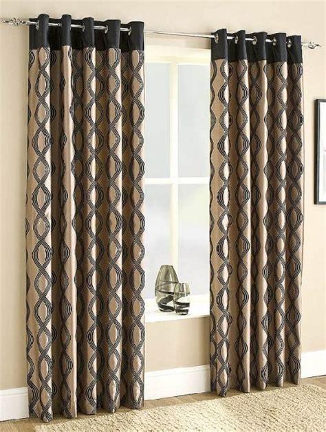 tesco black curtains buy capri lined eyelet ready made curtains black 46x54