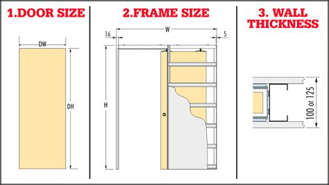 choosing   size pocket door kit pocket door kit