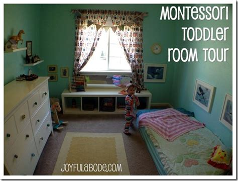 montessori toddler room montessori toddler room tour joyful abode