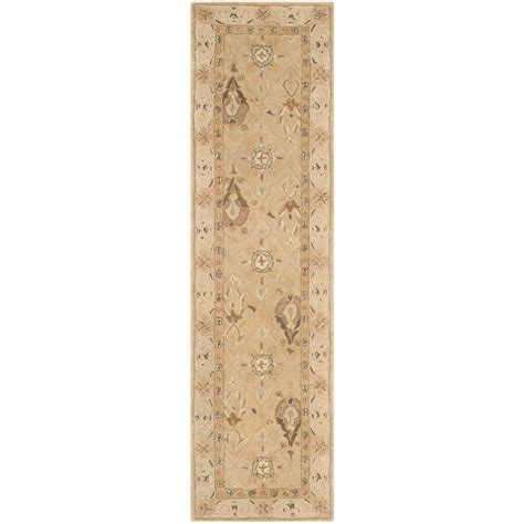 Beige Runner Rug Safavieh Anatolia Beige 2 Ft 3 In X 8 Ft Rug Runner An587a 28 The Home Depot