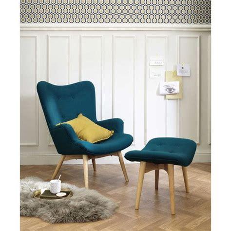 blaues samtsofa skandinavischer sessel petrolblau wohnzimmer blaues