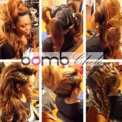 Birthday vixen sew in gives full versatility for all hair styles