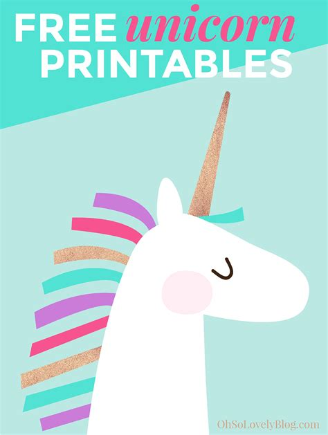 printable unicorn paper free and cute unicorn art printables